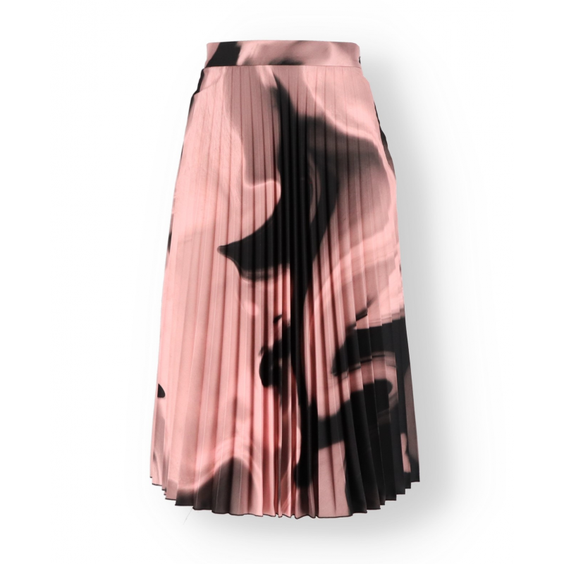 Off-White Pleated Skirt