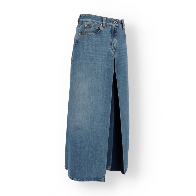 Valentino Cropped Flared Jeans